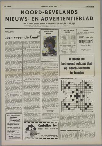 Noord-Bevelands Nieuws- en advertentieblad 1981-07-30