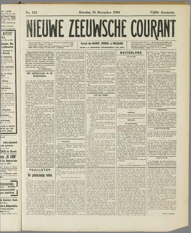 Nieuwe Zeeuwsche Courant 1909-12-28