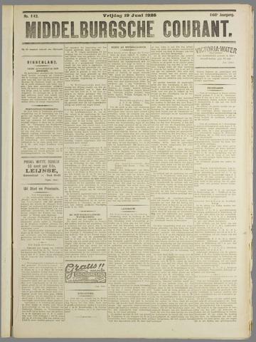 Middelburgsche Courant 1925-06-19