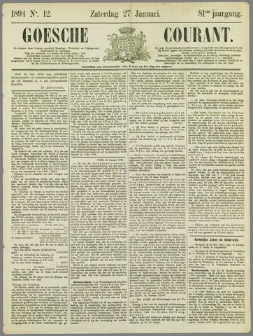 Goessche Courant 1894-01-27