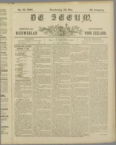 De Zeeuw. Christelijk-historisch nieuwsblad voor Zeeland 1904-05-26