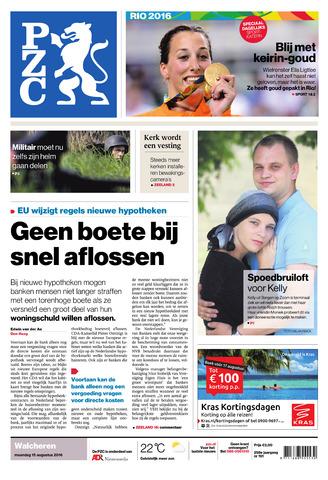 Provinciale Zeeuwse Courant 2016-08-15