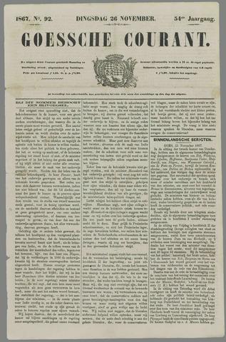 Goessche Courant 1867-11-26