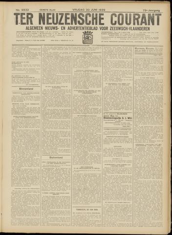 Ter Neuzensche Courant. Algemeen Nieuws- en Advertentieblad voor Zeeuwsch-Vlaanderen / Neuzensche Courant ... (idem) / (Algemeen) nieuws en advertentieblad voor Zeeuwsch-Vlaanderen 1939-06-30