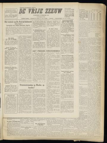 de Vrije Zeeuw 1949-02-16