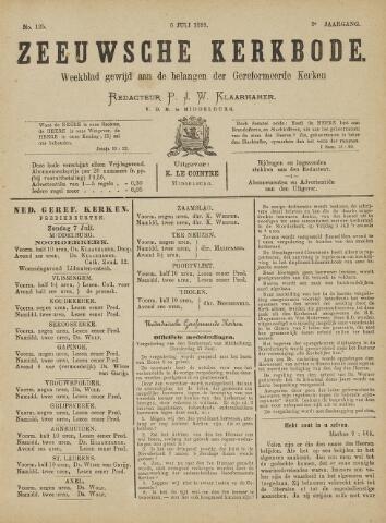 Zeeuwsche kerkbode, weekblad gewijd aan de belangen der gereformeerde kerken/ Zeeuwsch kerkblad 1889-07-06