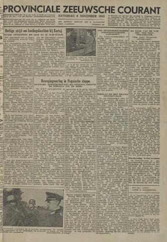 Provinciale Zeeuwse Courant 1943-11-06