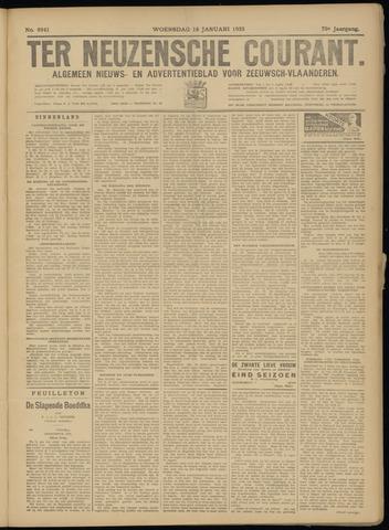 Ter Neuzensche Courant. Algemeen Nieuws- en Advertentieblad voor Zeeuwsch-Vlaanderen / Neuzensche Courant ... (idem) / (Algemeen) nieuws en advertentieblad voor Zeeuwsch-Vlaanderen 1933-01-18