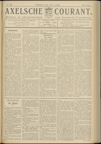 Axelsche Courant 1929-07-26
