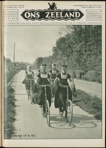 Ons Zeeland / Zeeuwsche editie 1931-11-13