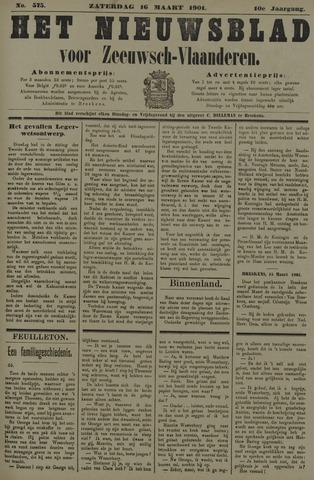 Nieuwsblad voor Zeeuwsch-Vlaanderen 1901-03-16