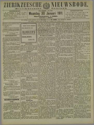 Zierikzeesche Nieuwsbode 1911-01-30