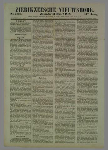 Zierikzeesche Nieuwsbode 1888-03-31