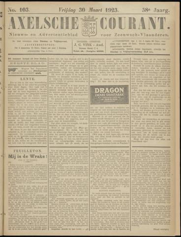 Axelsche Courant 1923-03-30
