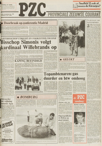Provinciale Zeeuwse Courant 1983-07-08