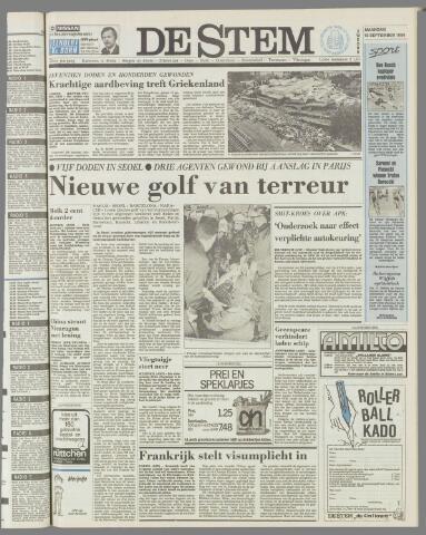 de Stem 1986-09-15