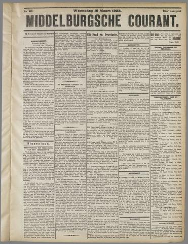 Middelburgsche Courant 1922-03-15