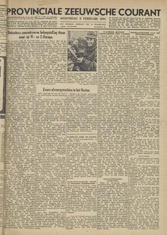 Provinciale Zeeuwse Courant 1944-02-09