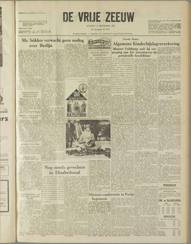 de Vrije Zeeuw 1961-12-12