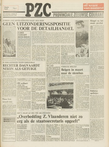 Provinciale Zeeuwse Courant 1974-01-30