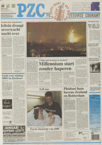 Provinciale Zeeuwse Courant 2000