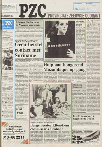 Provinciale Zeeuwse Courant 1987-04-04