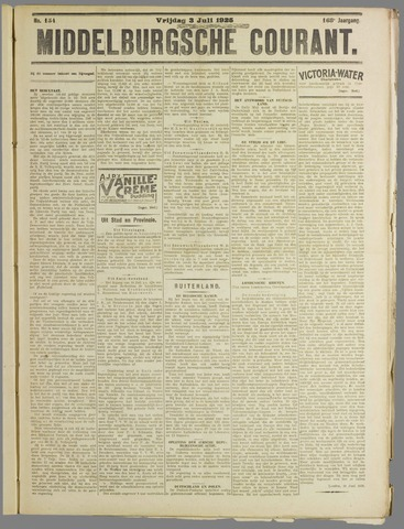 Middelburgsche Courant 1925-07-03