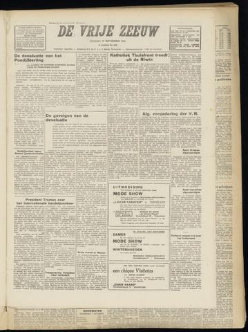 de Vrije Zeeuw 1949-09-27