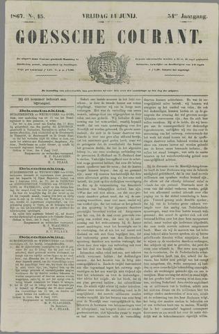 Goessche Courant 1867-06-14