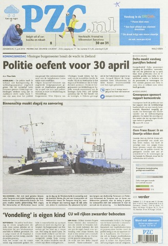 Provinciale Zeeuwse Courant 2010-04-01