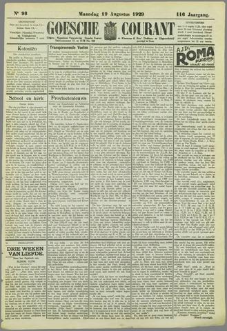 Goessche Courant 1929-08-19