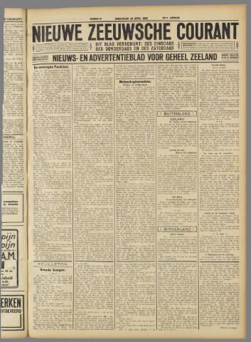 Nieuwe Zeeuwsche Courant 1932-04-28