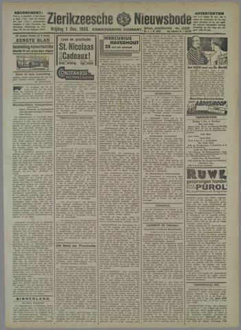 Zierikzeesche Nieuwsbode 1933-12-01