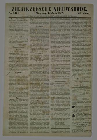Zierikzeesche Nieuwsbode 1873-07-22