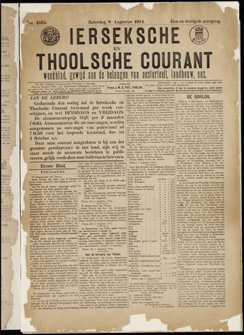 Ierseksche en Thoolsche Courant 1914-08-08