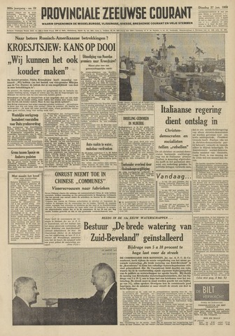 Provinciale Zeeuwse Courant 1959-01-27