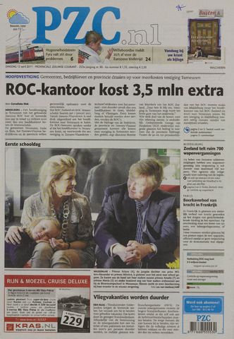Provinciale Zeeuwse Courant 2011-04-12