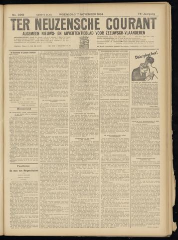 Ter Neuzensche Courant. Algemeen Nieuws- en Advertentieblad voor Zeeuwsch-Vlaanderen / Neuzensche Courant ... (idem) / (Algemeen) nieuws en advertentieblad voor Zeeuwsch-Vlaanderen 1934-11-07