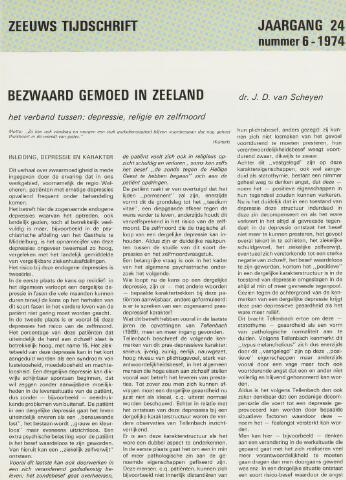 Zeeuws Tijdschrift 1974-11-01