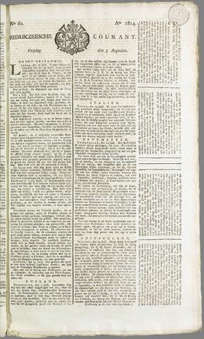 Zierikzeesche Courant 1814-08-05