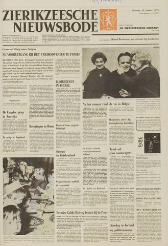 Zierikzeesche Nieuwsbode 1973-01-15