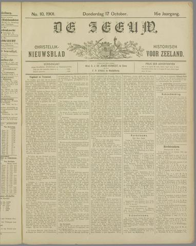 De Zeeuw. Christelijk-historisch nieuwsblad voor Zeeland 1901-10-17