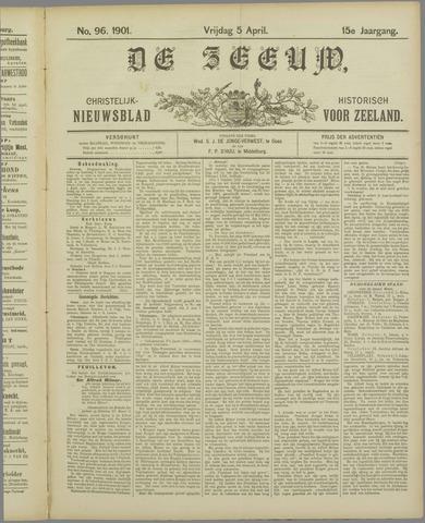 De Zeeuw. Christelijk-historisch nieuwsblad voor Zeeland 1901-04-05