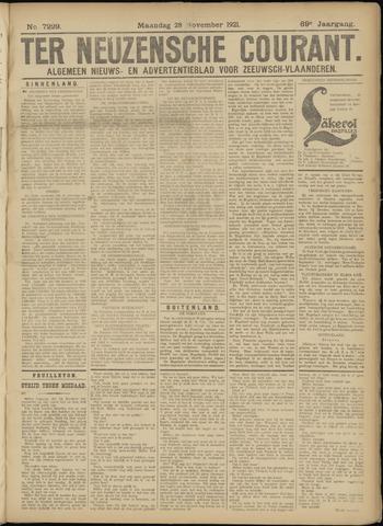 Ter Neuzensche Courant. Algemeen Nieuws- en Advertentieblad voor Zeeuwsch-Vlaanderen / Neuzensche Courant ... (idem) / (Algemeen) nieuws en advertentieblad voor Zeeuwsch-Vlaanderen 1921-11-28