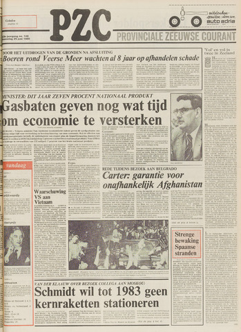 Provinciale Zeeuwse Courant 1980-06-25