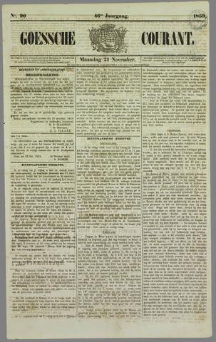Goessche Courant 1859-11-21
