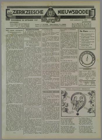 Zierikzeesche Nieuwsbode 1937-09-30