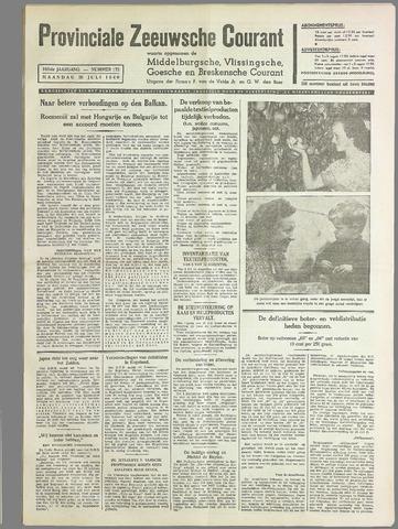 Provinciale Zeeuwse Courant 1940-07-29