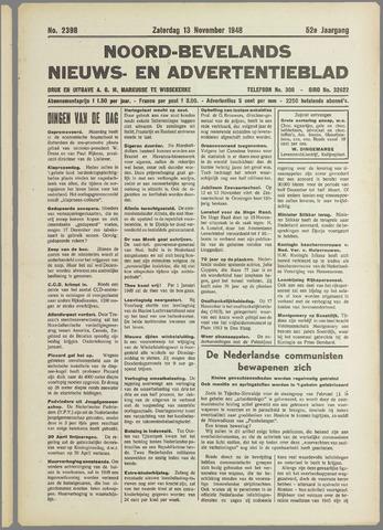 Noord-Bevelands Nieuws- en advertentieblad 1948-11-13