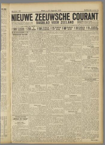 Nieuwe Zeeuwsche Courant 1922-08-21